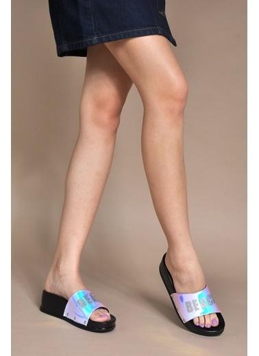 Vizon Ayakkabı Terlik Lila